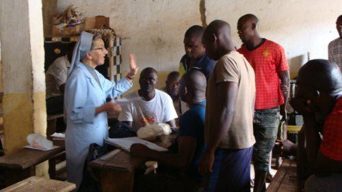 s. Orencja Żak z Kamerunu