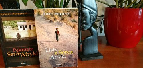 Robert Wieczorek, książki o Republice Środkowoafrykańskiej