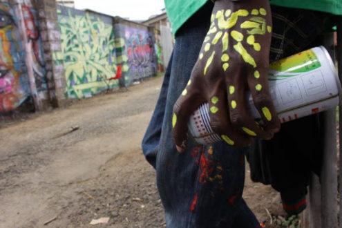 Paulina Zając, Oni nie znają naszej sztuki. Graffiti w Kenii