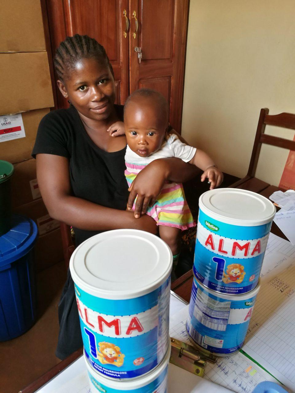 pacjentka HIV/AIDS, Kamerun