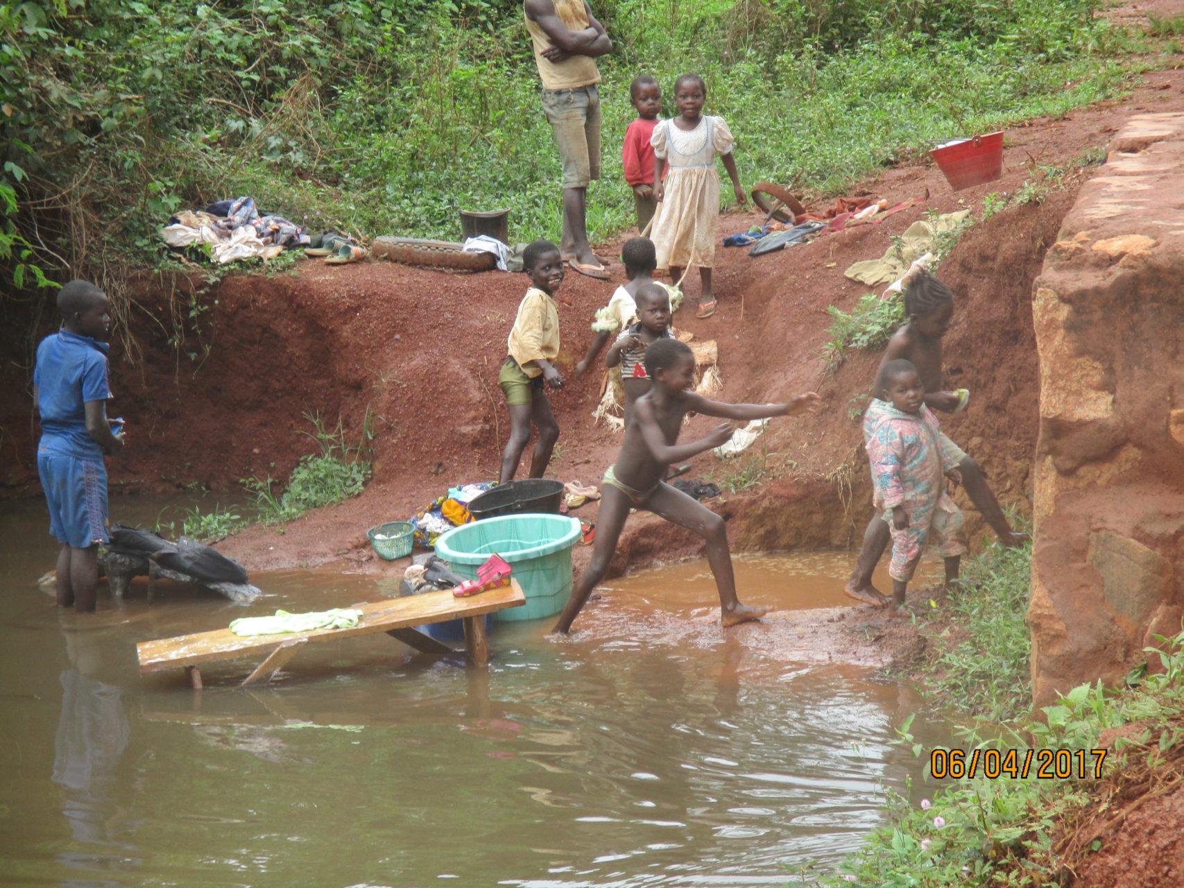 dostęp do czystej wody Kamerun