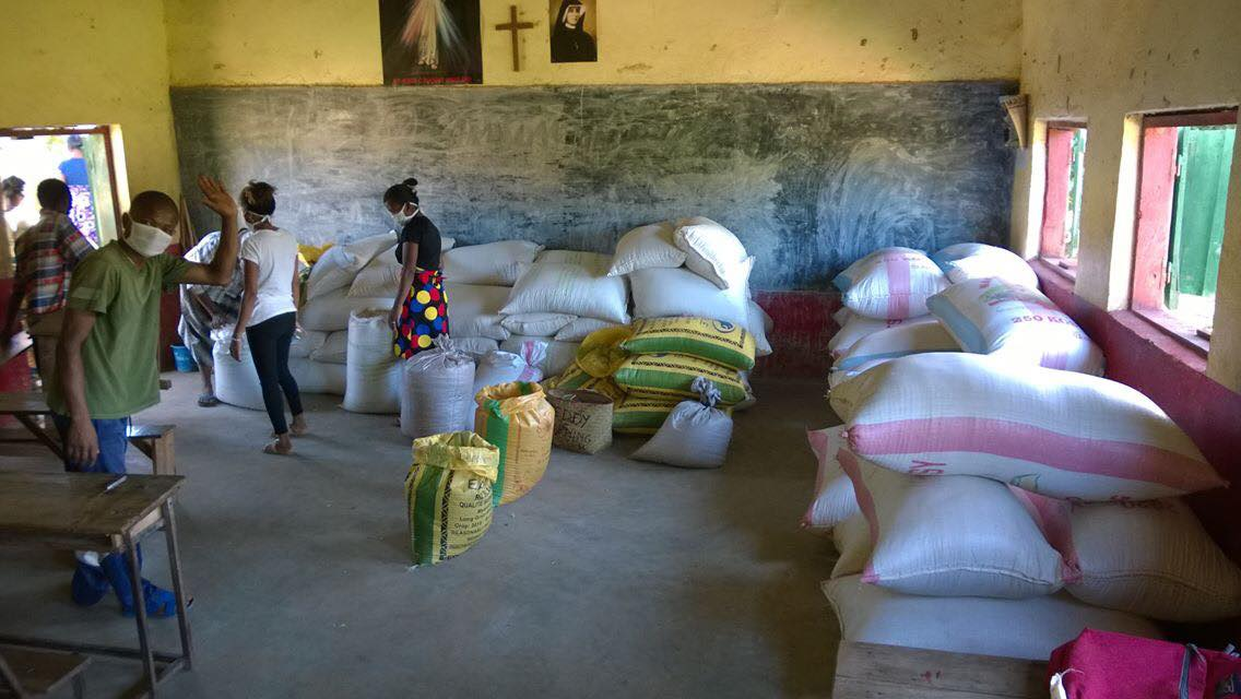 żywność dla Madagaskaru