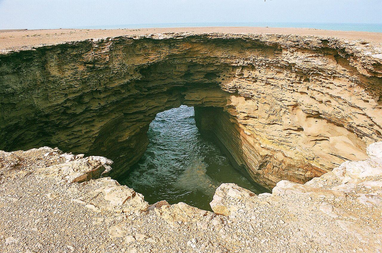 Sahara Zachodnia - wybrzeże Oceanu Atlantyckiego