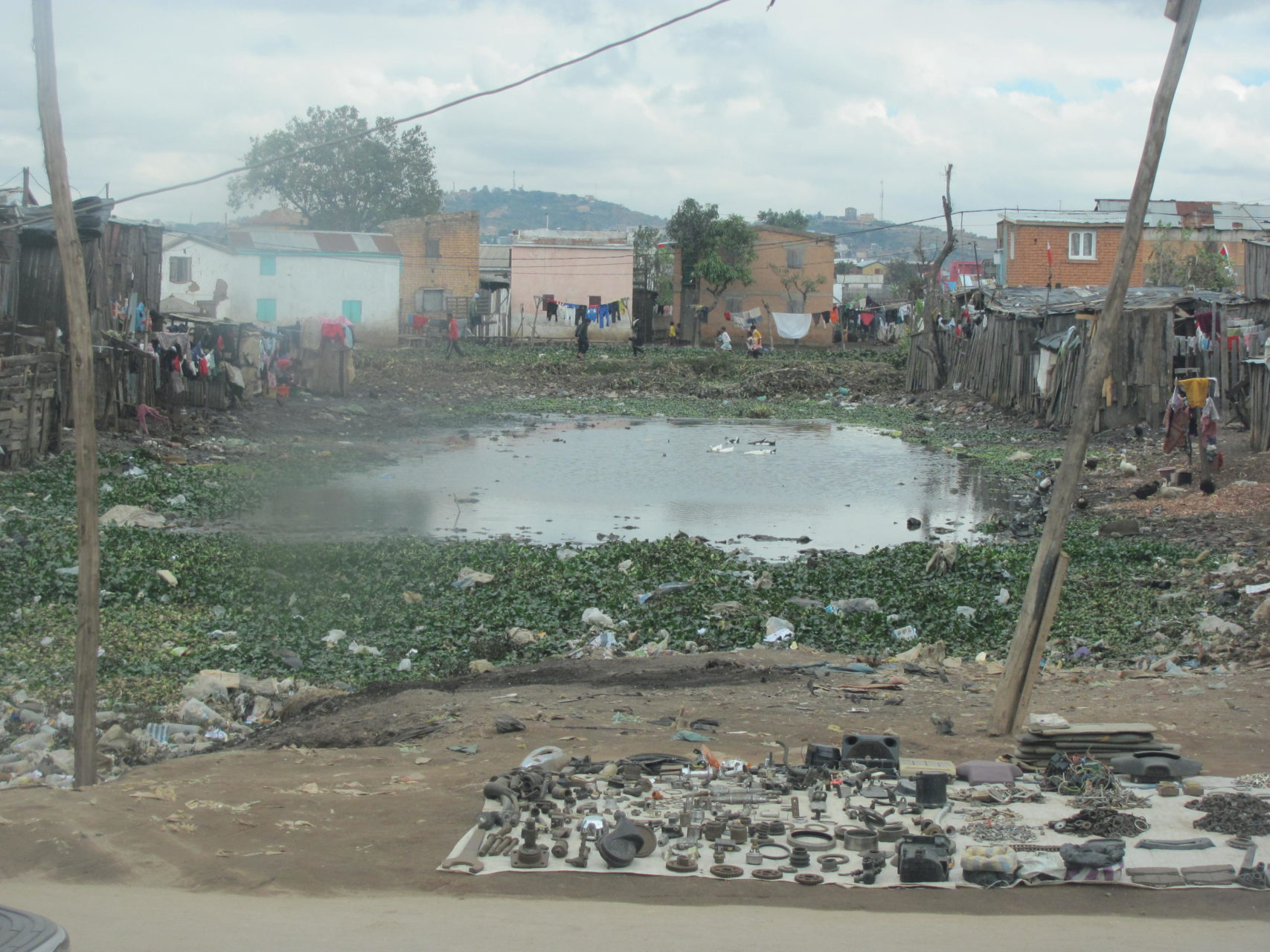 Handel na ulicach stolicy Madagaskaru, Antananarywy