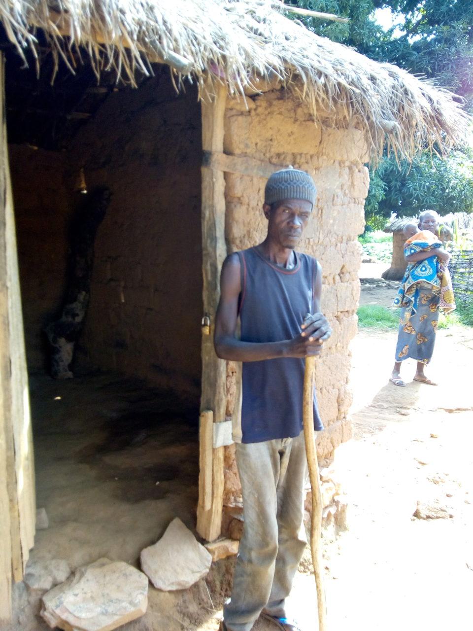 Daniel  niewidomy republika środkowoafrykanska