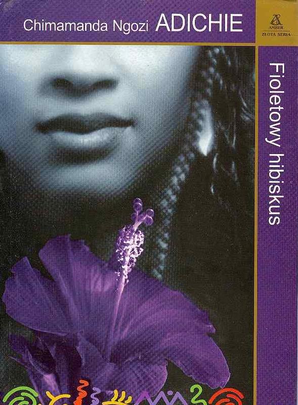 Fioletowy hibiskus