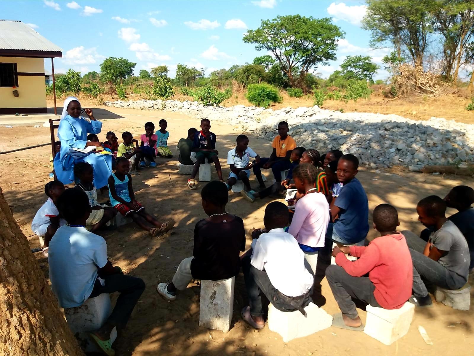 szkoła w Zambii