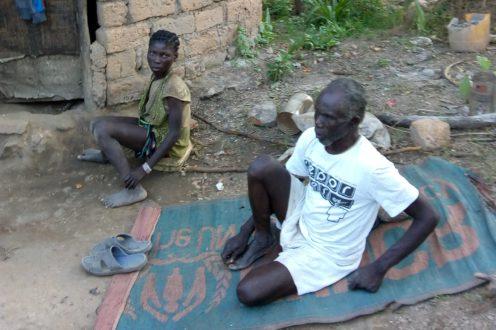 niewidomi w republice srodkowej afryki matheiu