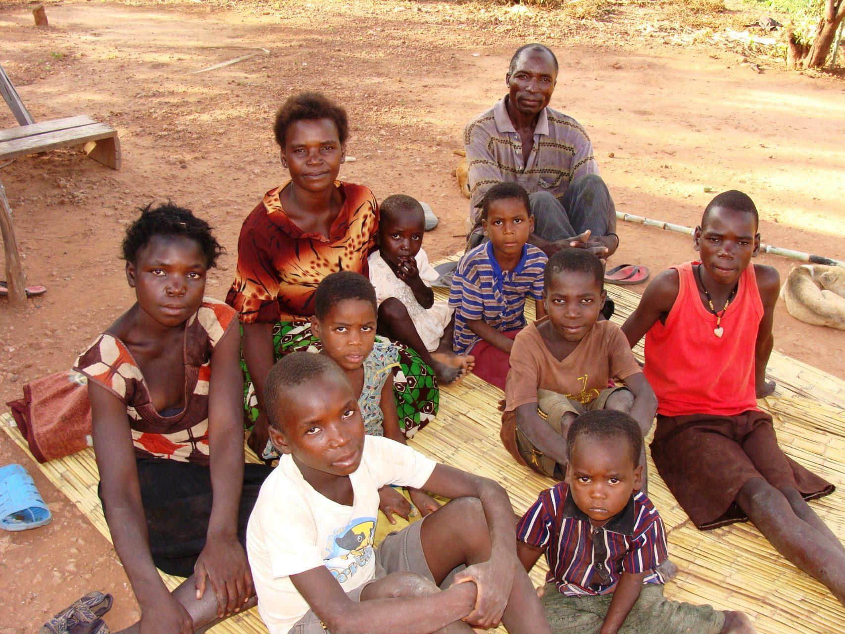 rodzina Zambia