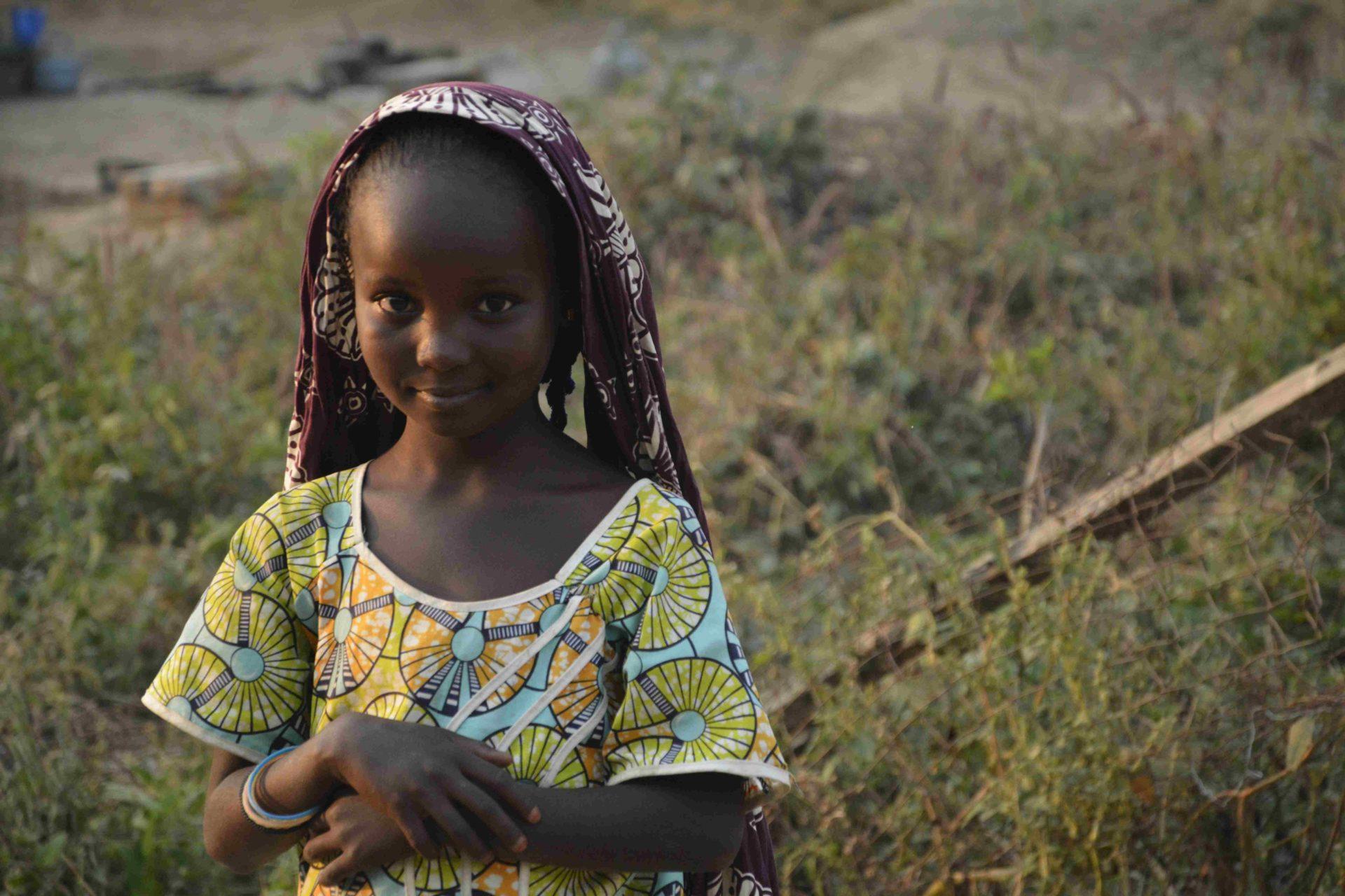 uchodzca w Kamerunie