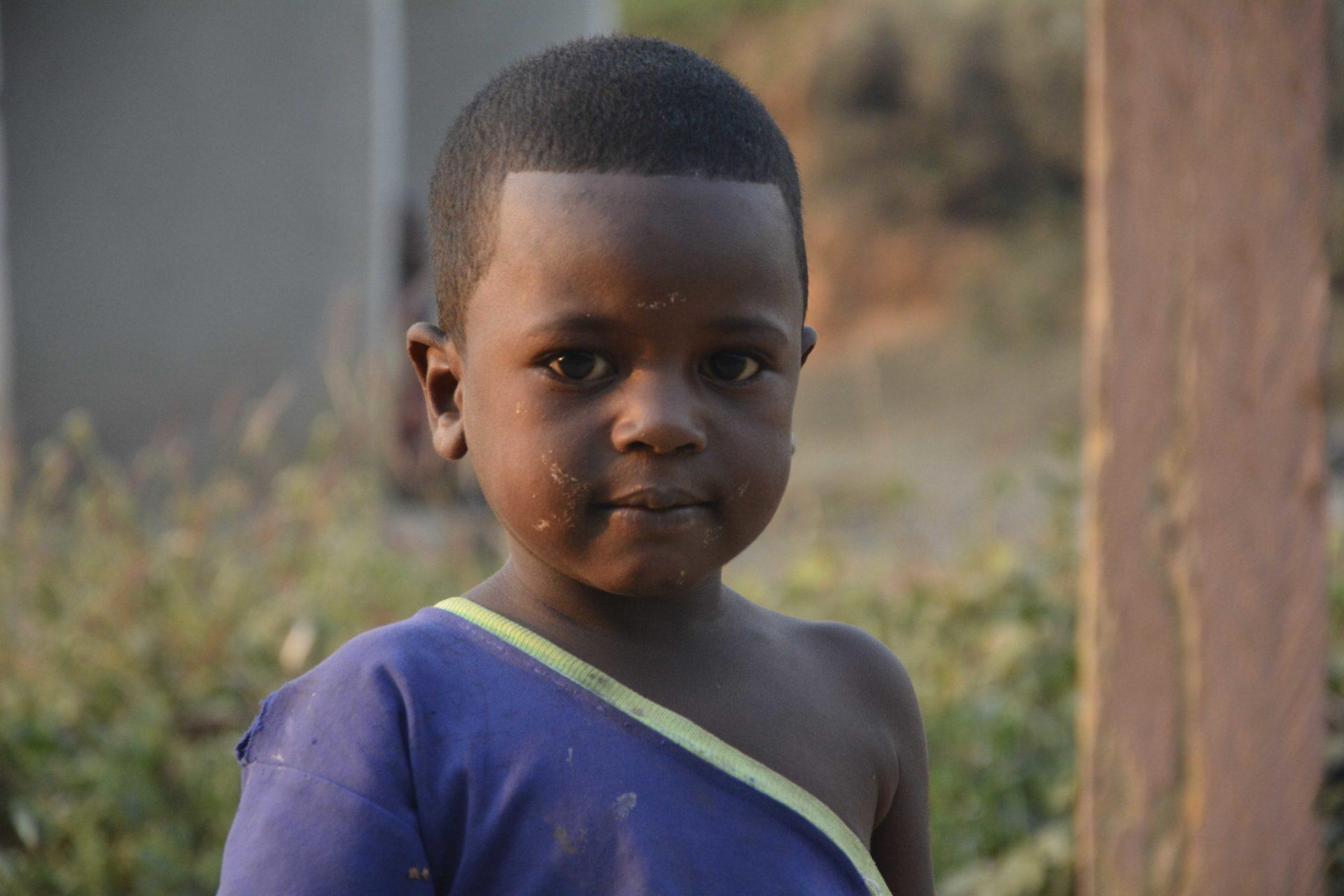 w obozie dla uchodzcow w Kamerunie