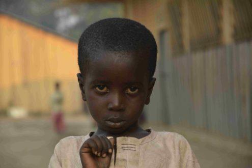 dziecko uchodzca z Republiki srodkowoafrykanskiej