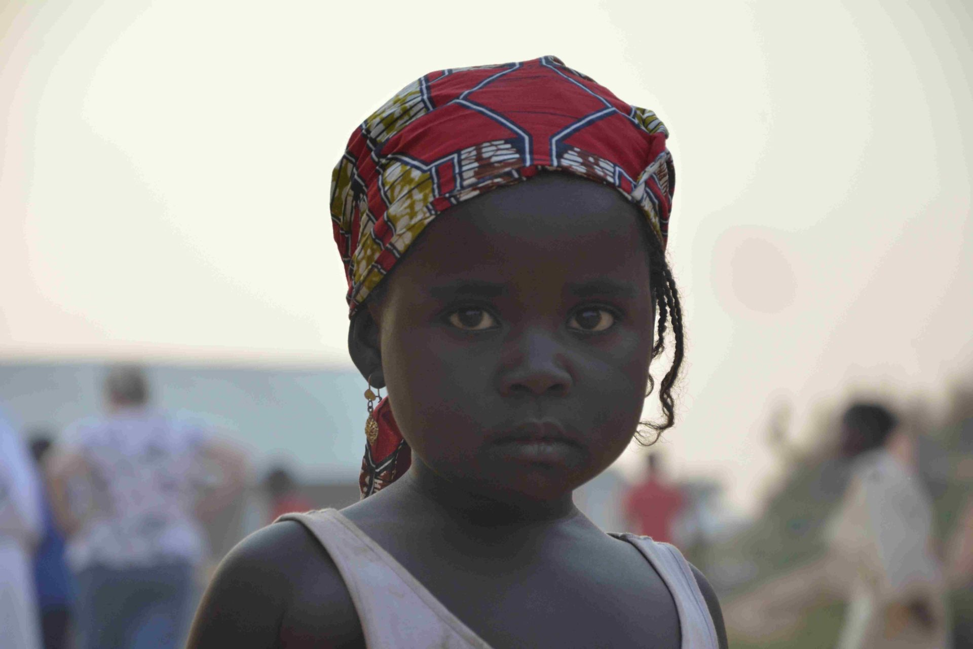 dziecko w obozie dla uchodzcow w Kamerunie